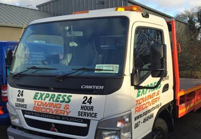 towing truck dublin